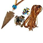 Agate Arrowhead Necklace Kit