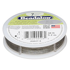 Beadalon Nylon Coated  Craft Wire, .024 Diameter