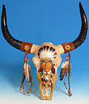 Indian Chief Buffalo Skull