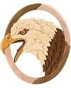 Eagle Head II 3-D Wall Art