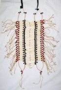 Red Buffalo Bone Breastplate