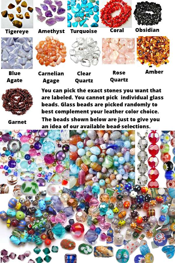 bead and stone colors