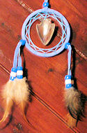 Mini Dreamcatcher Mandella with Arrowhead Mirror Ornament