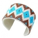 Medicine Man's Seeing Eye beaded cuff bracelet