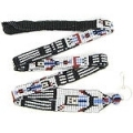 Yei Dancer seed bead lanyard/ID holder