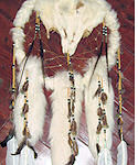 Arctic Fox Dreamcatcher Medicine Shield