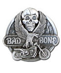 Bad to the Bone Belt Buckle