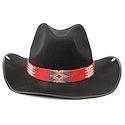 Red Cowboy hatband/belt