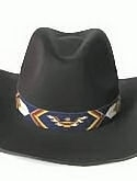 Thunderbird & Feather  Hand Beaded Hat Band or Belt