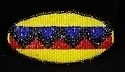 Genuine Chippewa-Cree seed bead barrette