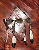 Buffalo Horn Antler Peace PIPE