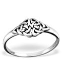 Celtic Knot Sterling Silver Ring