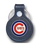 Chicago Cubs licensed leather keychain