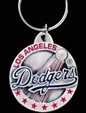 LICENSED Los Angeles Dodgers Keychain