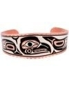 Eagle and Killer Whale Copper Bracelet