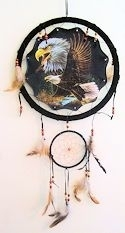 Eagle Mandella Dreamcatcher Wall Art