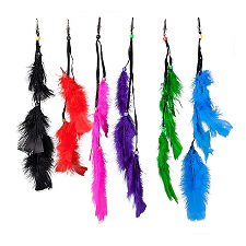 3 Feather Clip Ornament