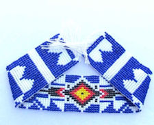 "Iroquois Bead Strip, 1.25"" x 10"""