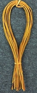Natural Color Latigo Laces