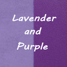 Lavender / Purple Leather