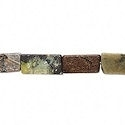 Magnetite Stone Rectangle Beads