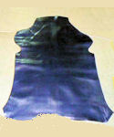 12.2 sq ft Navy Blue Deerskin