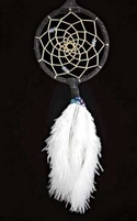 "15"" Dream Catcher with Ostrich Plumes"