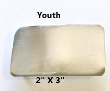 Youth Rectangle Belt Buckle Blank