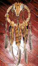 Red Fox Dreamcatcher Medicine Shield