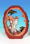 Miniature Cheetah FIGURINE