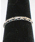Stackable Sterling Silver Band Ring #77