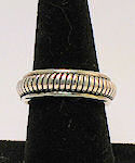 Sterling Silver WEDDING Band No 81