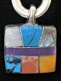 stone pendant JEWELRY #022E