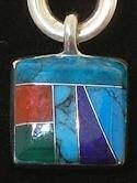 stone pendant JEWELRY #024
