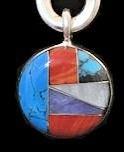 stone pendant JEWELRY #026E