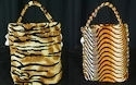 Tiger print cloth bag