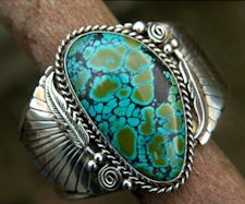 Turquoise Sterling Silver Plated Ring