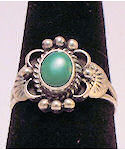 Turquoise Sterling Silver Ring #152