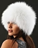 Arctic Fox Fur Hat
