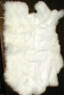 All White Rabbit Fur Pelts
