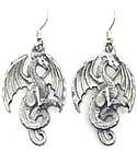 Winged Dragon Earrings