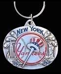 New York YANKEES Keychain